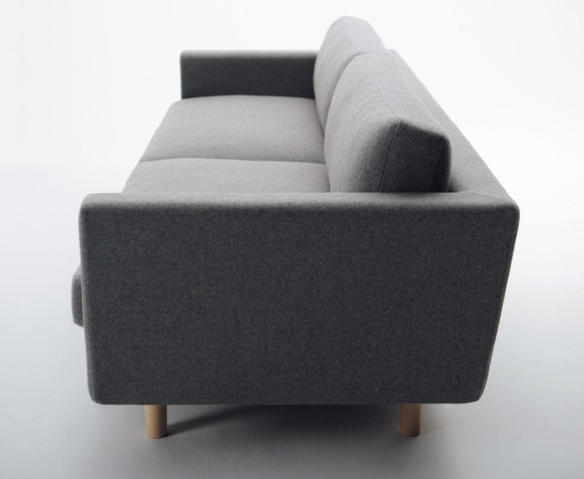 Hiroshima Three Seat Sofa Seehosu