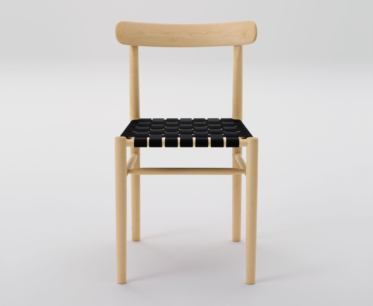 Charmant Lightwood Chair With Webbing Seat